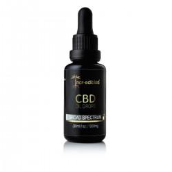 CBD Distillate (Broad Spectrum) 1200mg by Incr-edibles
