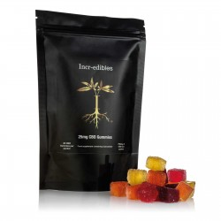25mg Gummy CBD Cubes by Incr-edibles (30 Pack)