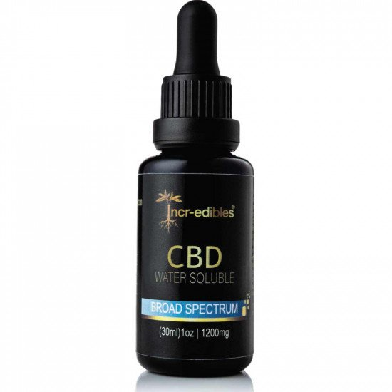 30ml Bottle of Water Soluble CBD 1200mg by Incr-edibles