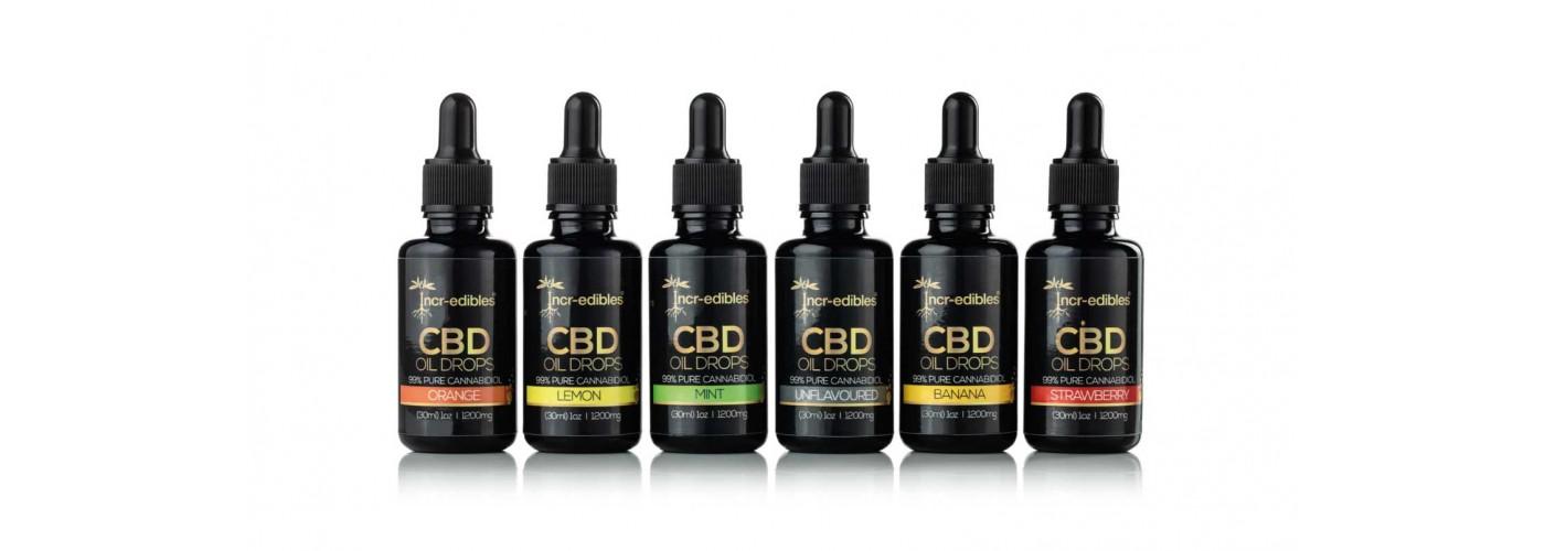 Flavoured CBD Oils