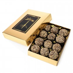 25mg CBG Hazelnut Chocolate Truffles by Incr-edibles