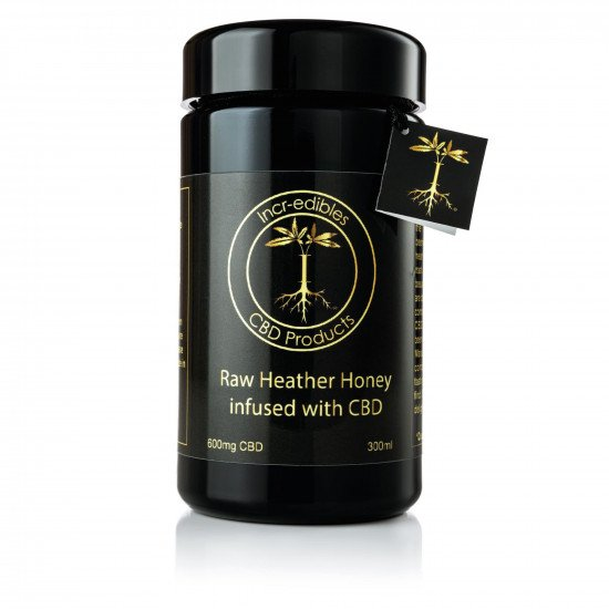 CBD Raw Heather Honey (600mg) by Incr-edibles