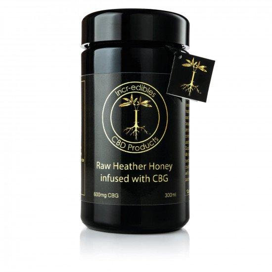 CBG Raw Heather Honey (600mg) by Incr-edibles